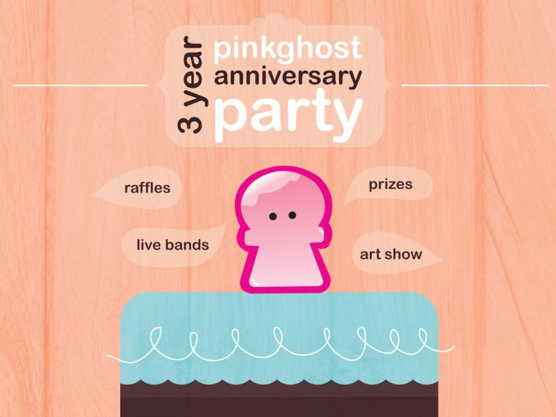Pinkghost Poster