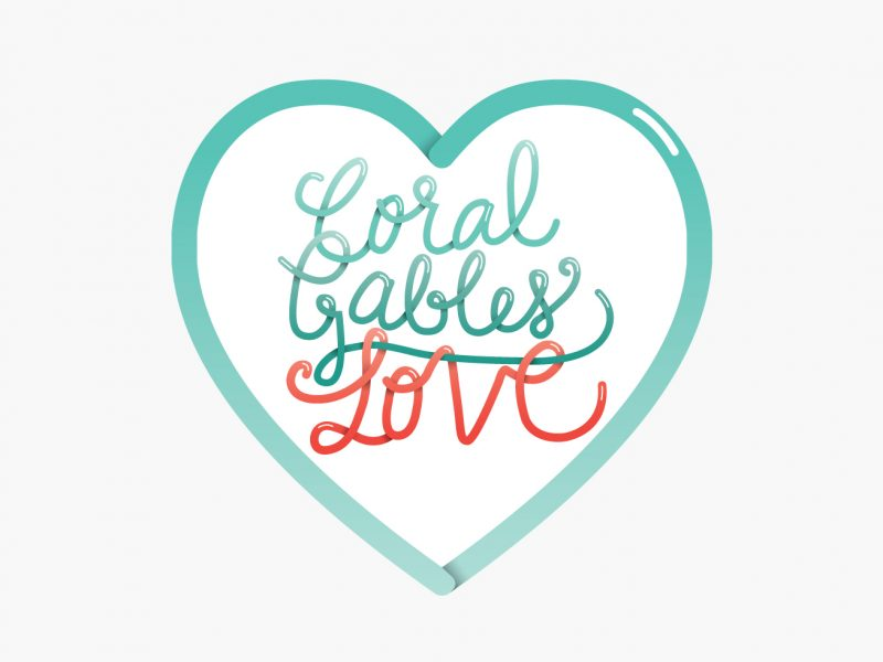 Coral Gables Love Logo
