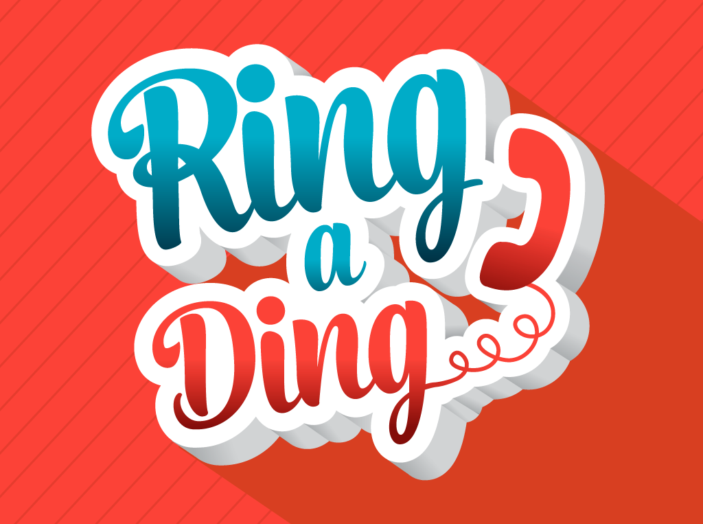 Ring a Ding logo Design