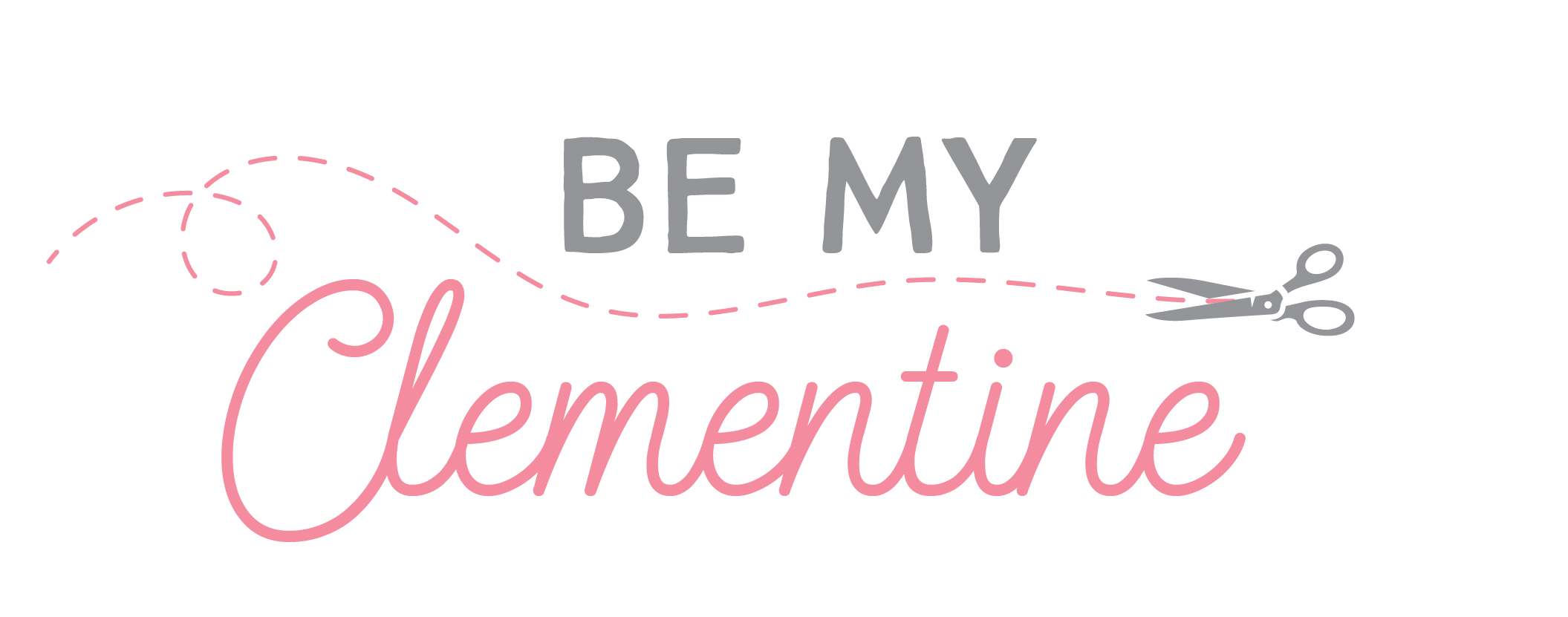 Be My Clementine logo design crafty blogger etsy seller shop